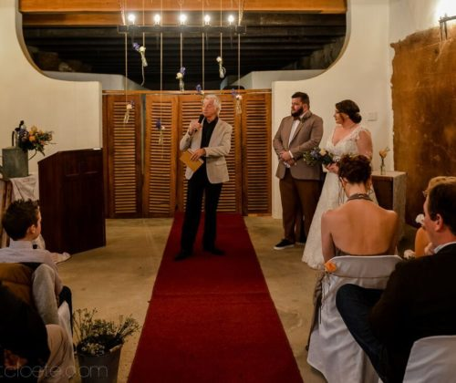 wedding celebrant western cape
